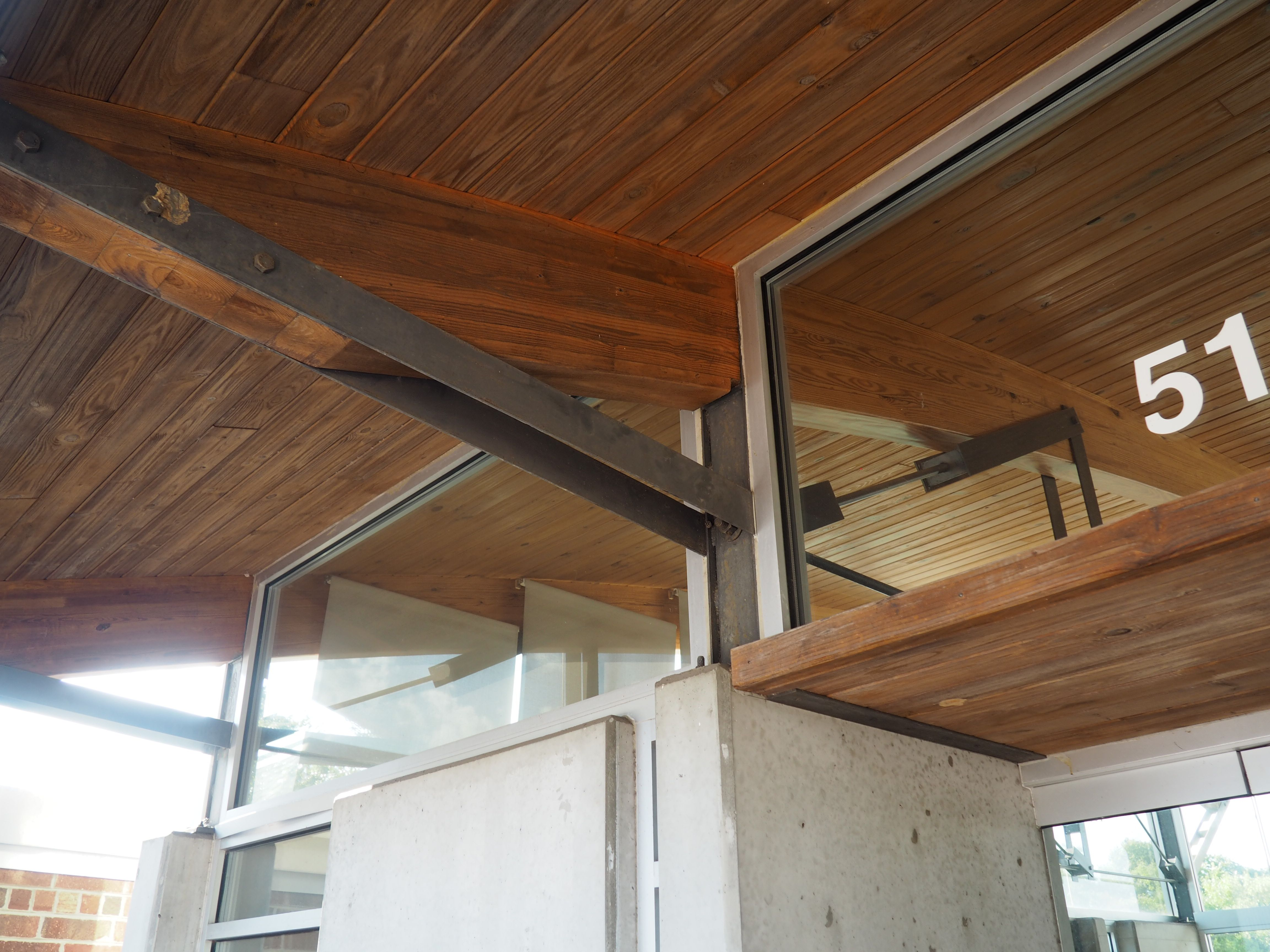 Decorative Ceiling Trusses | Shelly Lighting |Modern Wood Trusses