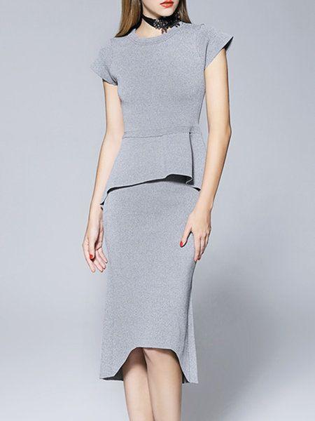 Midi Dresses Work