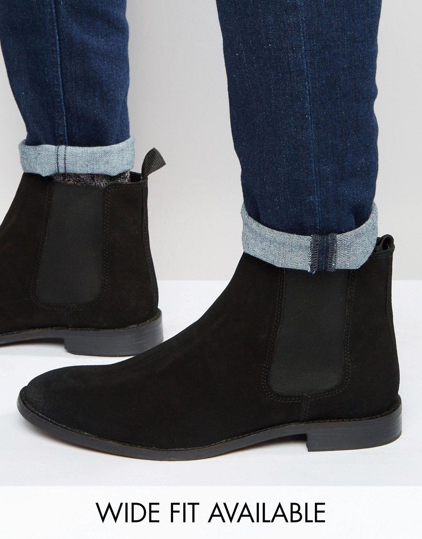 03511a6c49c Chelsea Boots in Suede   Gifts ideas   Black suede chelsea boots ...