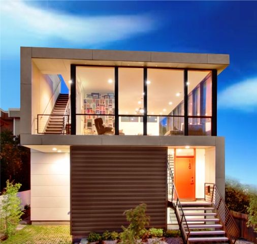 Cost Of Small Modern Home