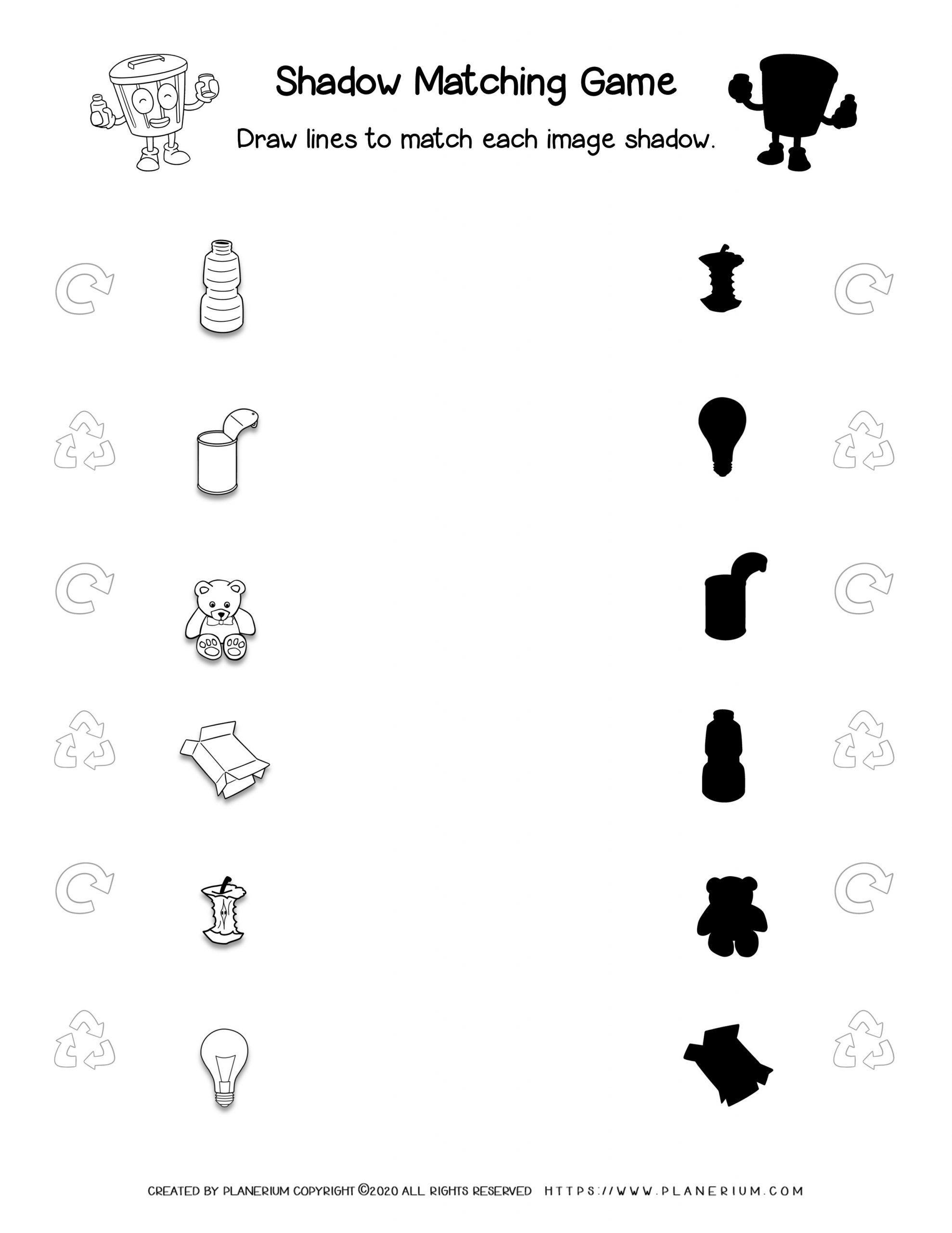 Earth Day Worksheet Shadow Matching Game Planerium Earth Day Worksheets Free Worksheets For Kids Matching Games [ 2560 x 1978 Pixel ]