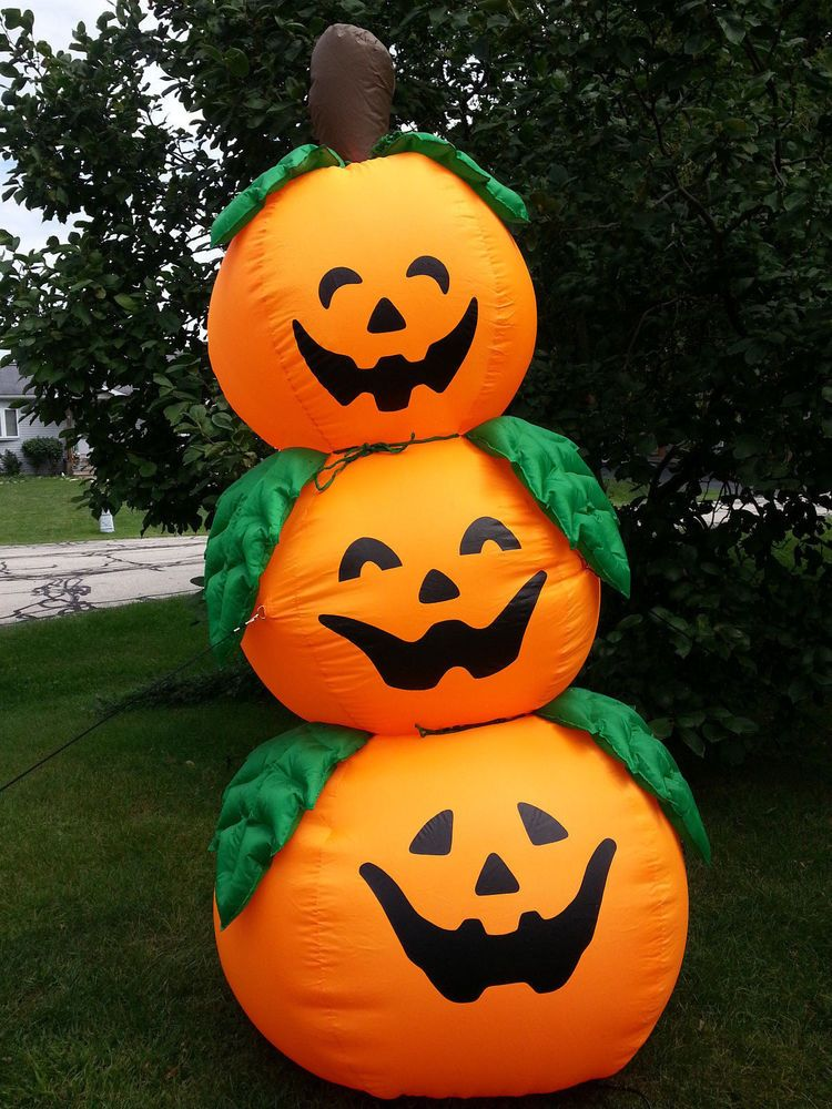Jack O Lanterns Stack Tower 8ft Indoor