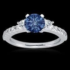 83e273879e18 Anillo de compromiso piedra azul. Anillo de compromiso piedra azul Anillos  ...