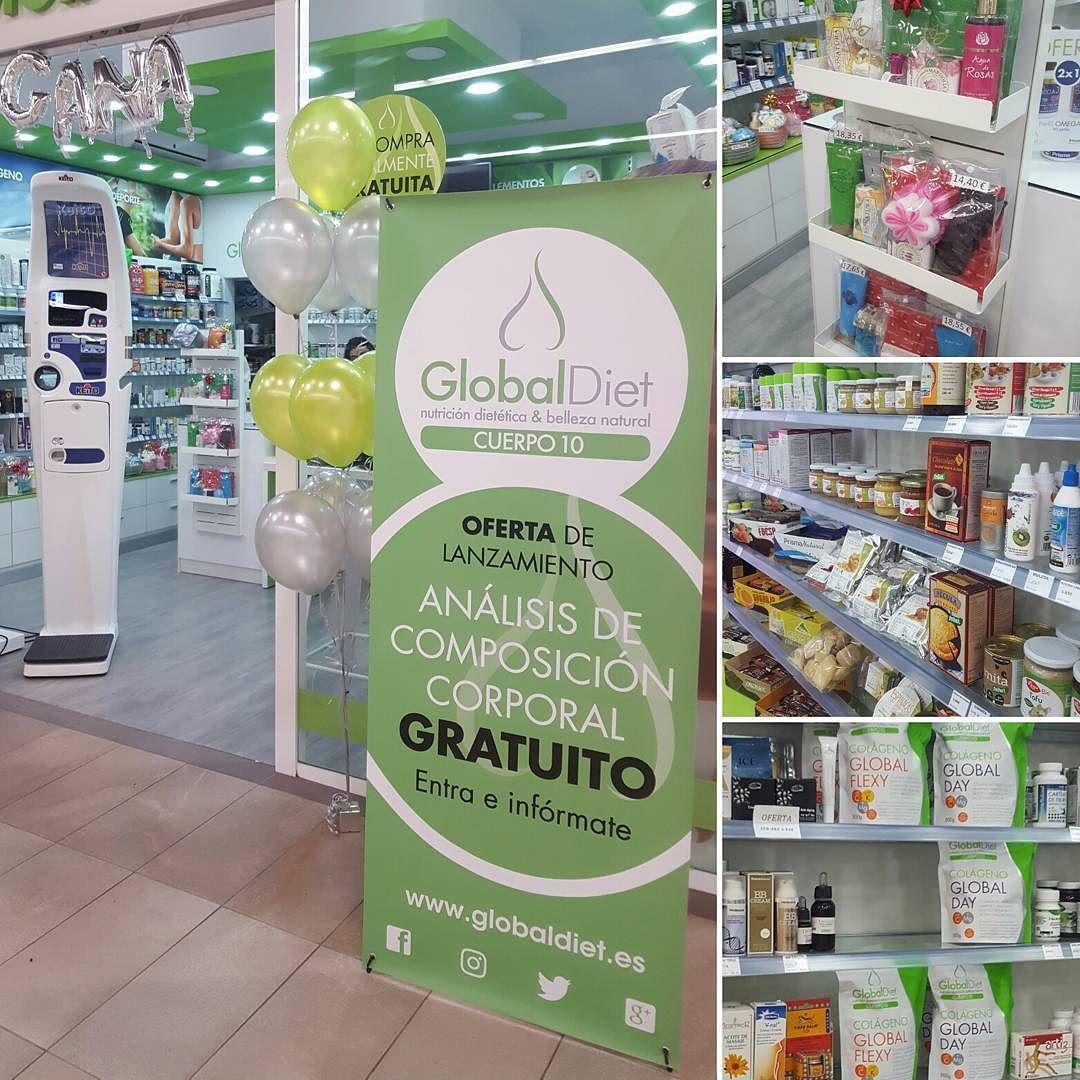 Me he venido al #eventoGlobaldiet! Pásate por Carrefour Macarena y conoce sus productos de belleza natural @GlobalDiet_es #tdsmoda