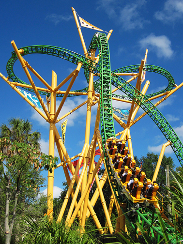 Cheetah hunt busch gardens tampa bay - Roller coasters at busch gardens ...
