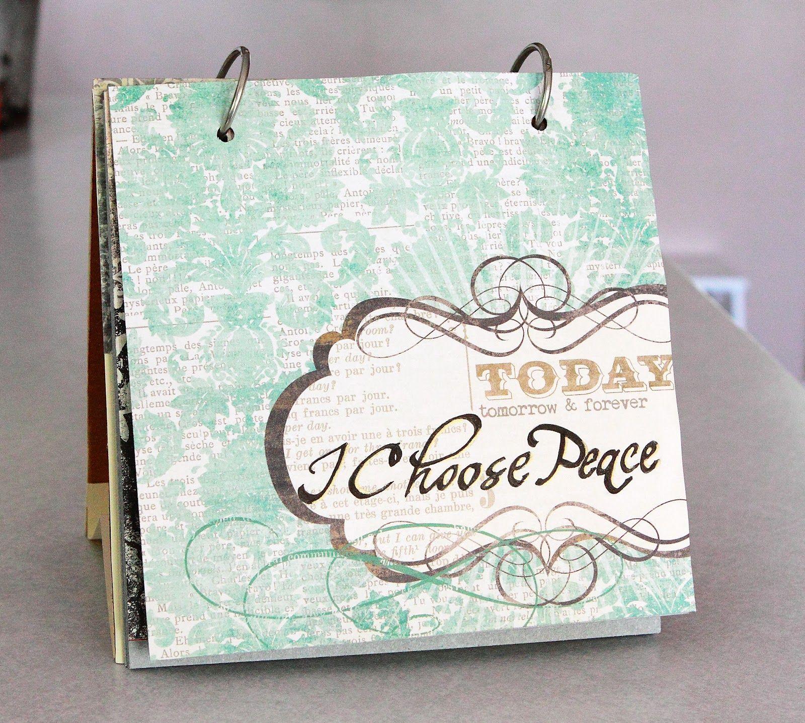 Diy Daily Flip Calendar : Diy flip book make books with inspirational quotes