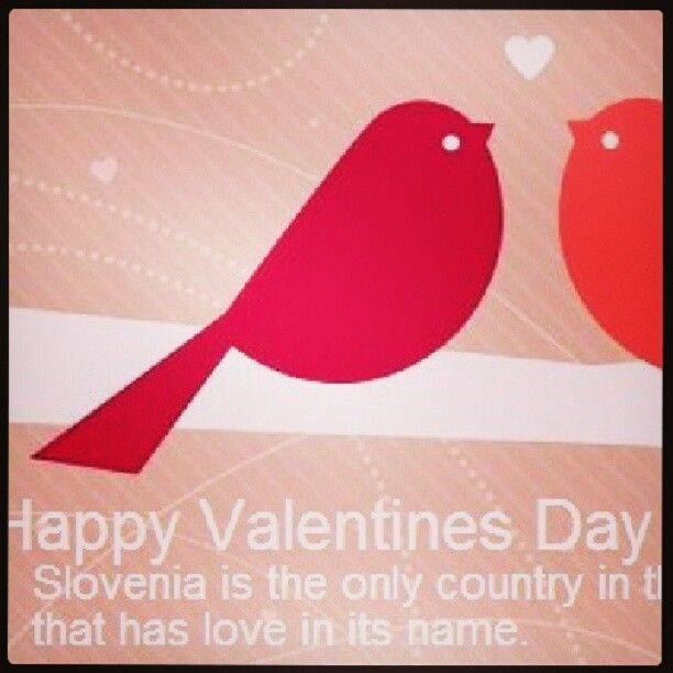 The most romantic country is #sLOVEnia #LoveEurope #ifeelSlovenia #happy # Valentine | Romantic places, Most romantic, Romantic country