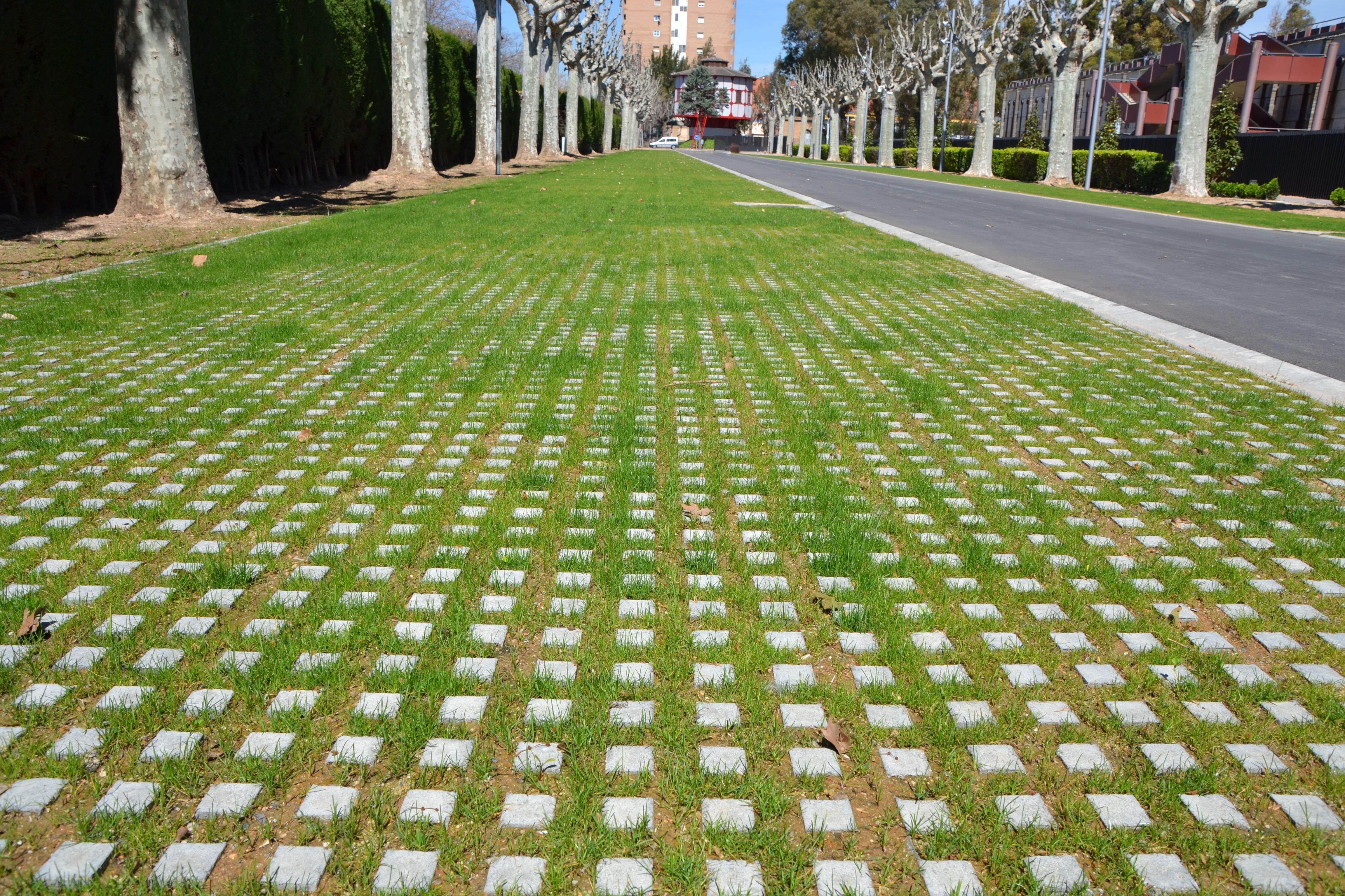 Llosa illa en agbar museu de les aig es losas for Pavimentos de jardin