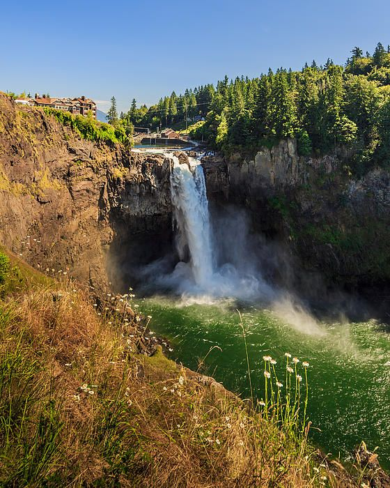 Snoqualmie Falls from 50 Shades of Gray.