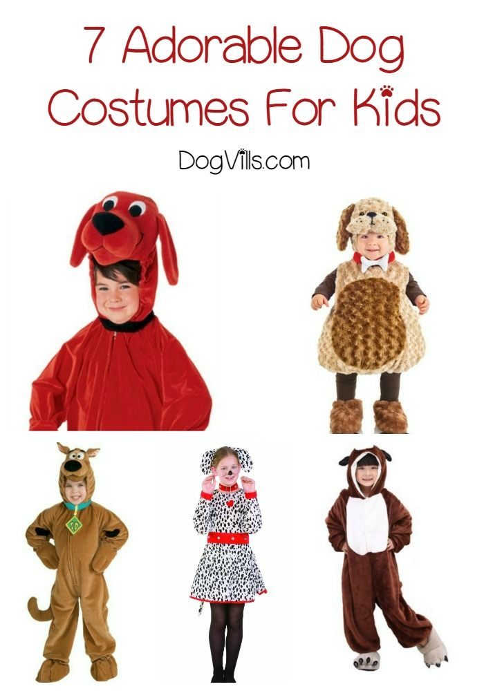 what better way to celebrate the love between your pooch and your child than by letting your little one dress up in one of these cute dog costumes for kids