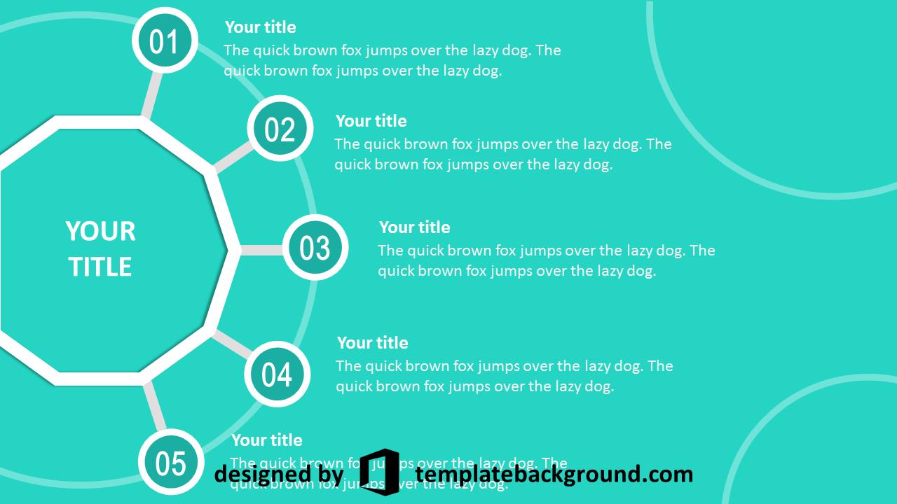 Presentation template timeline Hoạt hình