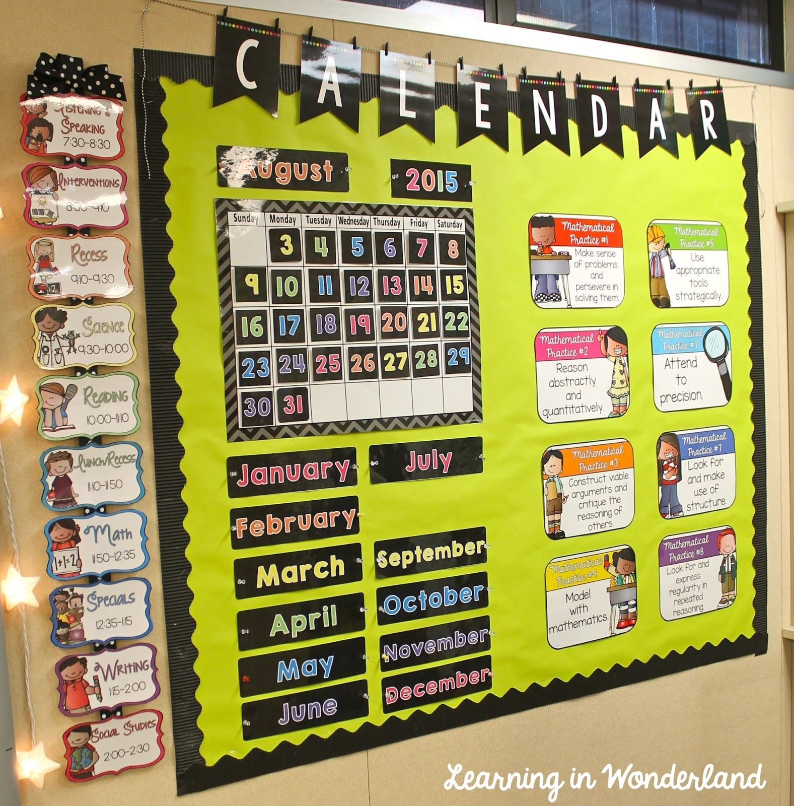 Classroom Tour {2015-2016} | Classroom decor, Learning and Inspiration