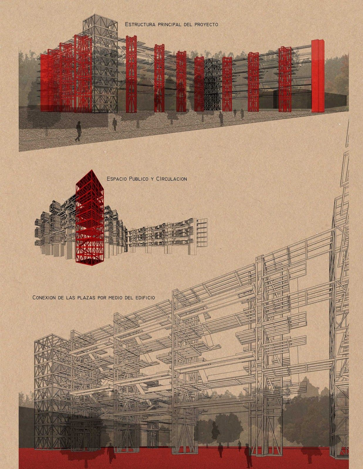 ESTRUCTURA-MATERIAL /Taller 4 Escuela de Arquitectura Universidad Católica de Chile