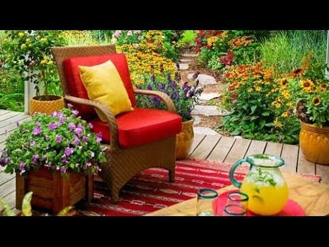 ideas increibles para decorar jardines pequeos youtube