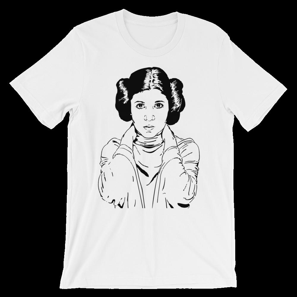 7d355ba349b9 Princess Leia Portrait T-Shirt | Products | Princess leia, Portrait ...