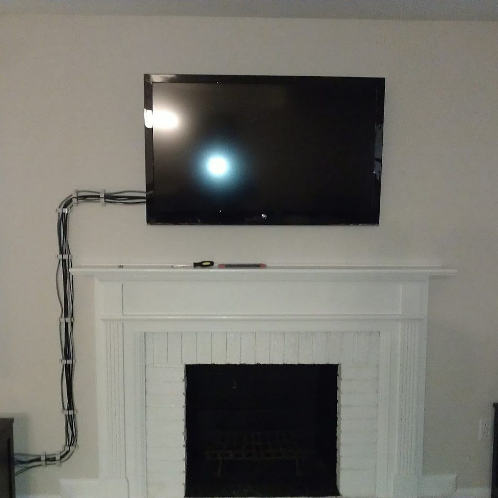 Wall Mount Tv Cable Hider Tv Wall Wall Wire Cover Flat Screen Wall Mount