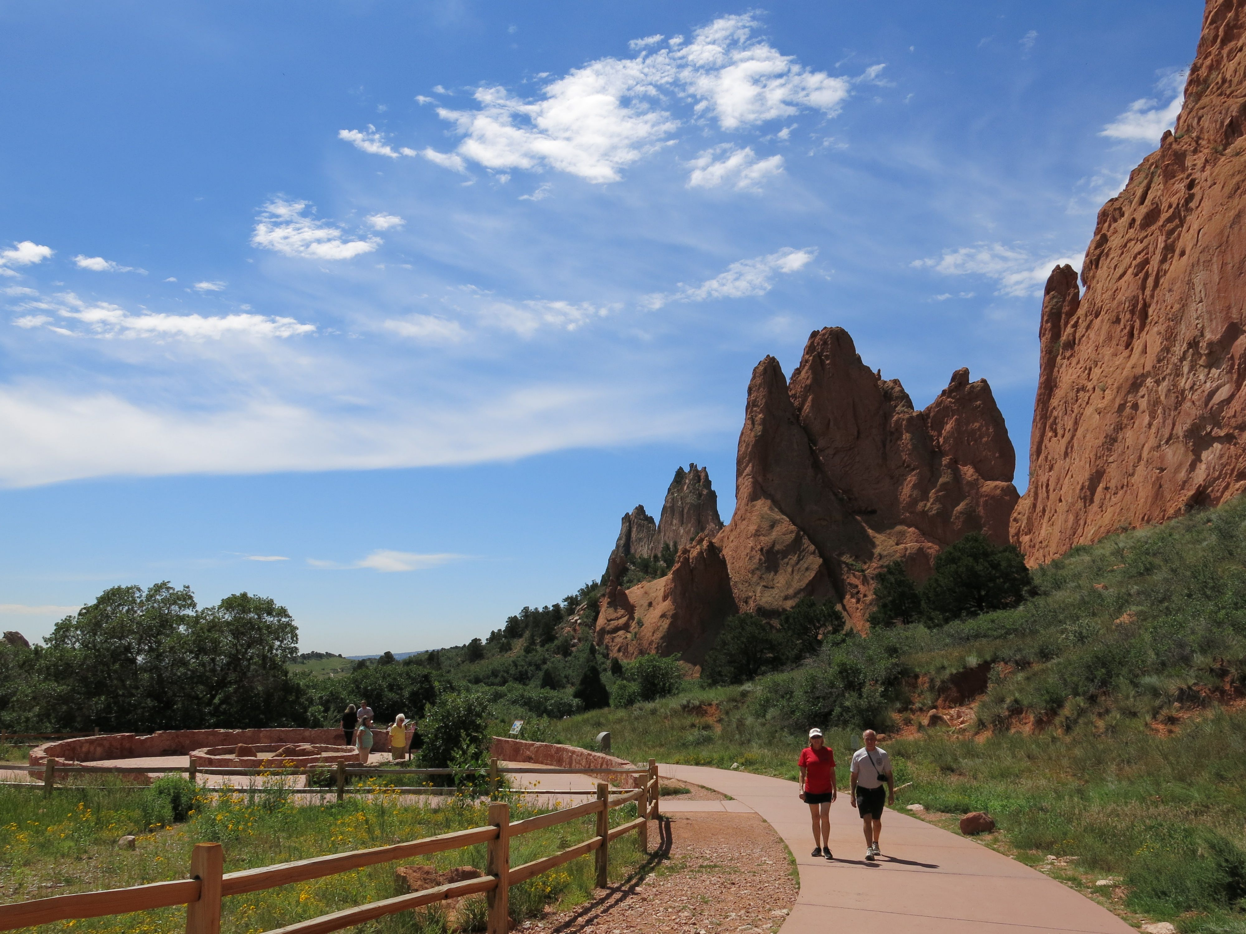 Garden Of The Gods RV Resort In Colorado