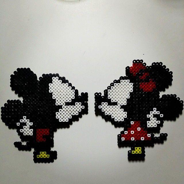 Minnie Mouse Perler Bead Disney Perler Bead