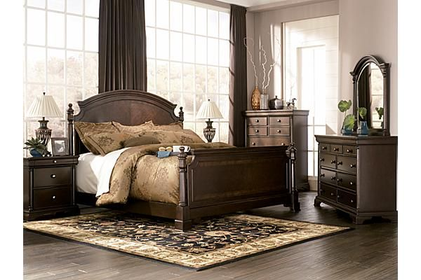 The Leighton Poster Bedroom Set from Ashley Furniture HomeStore