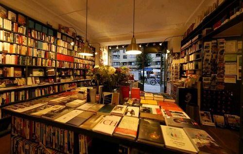 Marga Schoeller Bücherstube, Berlin. (Founded in 1929, it is one of Europe's oldest bookshops.)