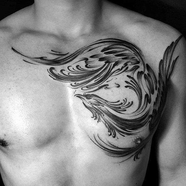 100 brush stroke tattoo designs f r m nner gemalte ideen pinterest. Black Bedroom Furniture Sets. Home Design Ideas