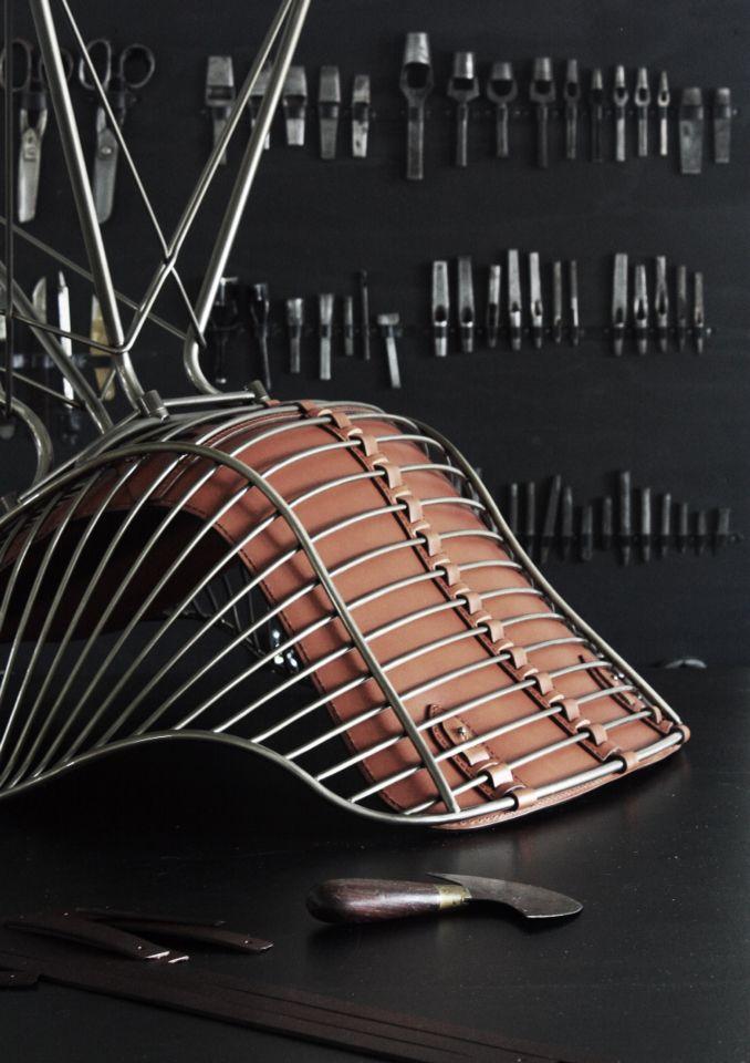 Details on Wire Dining Chair by Overgaard & Dyrman - www.oandd.dk