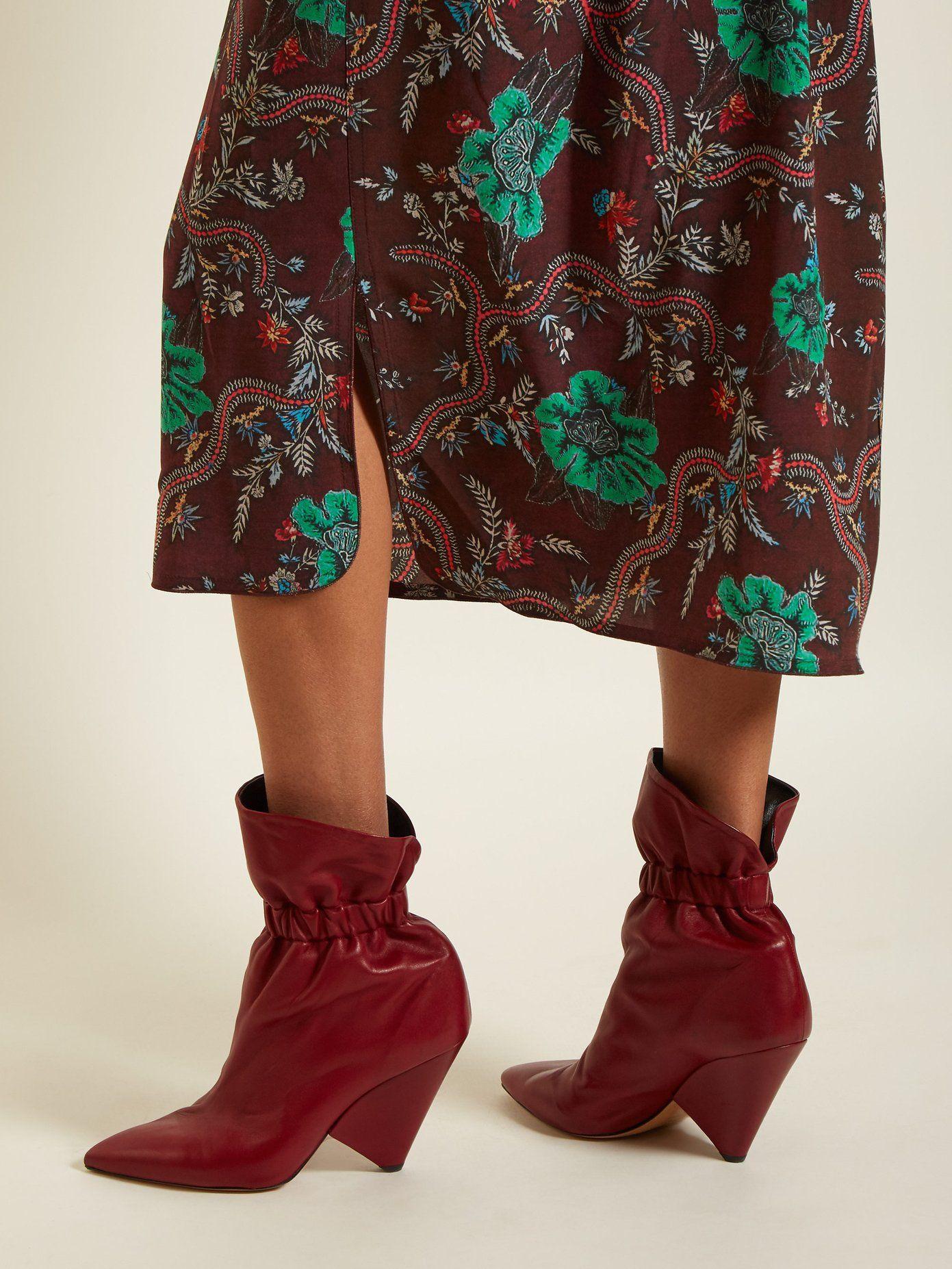 8e786ce4f0f Lileas leather ankle boots   Isabel Marant   MATCHESFASHION.COM US ...