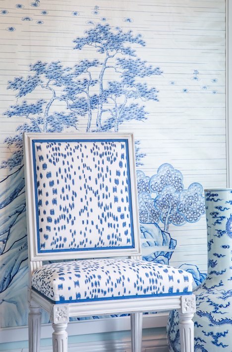Saay Inspiration Blue And White