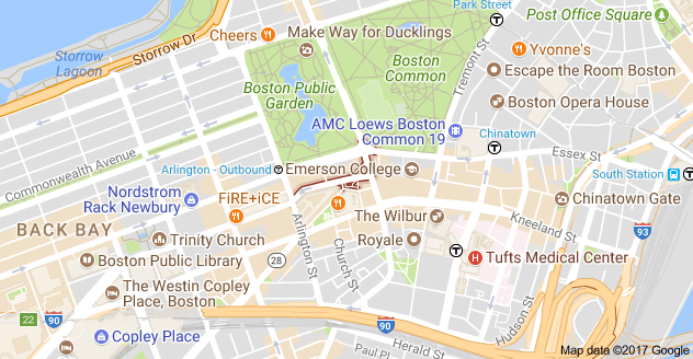 Map of Park Plaza, Boston, MA 02116, USA (With images