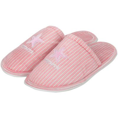 2cd7c299d50 Women's Dallas Cowboys Pink Slide Slipper | How Bout em Cowboys ...