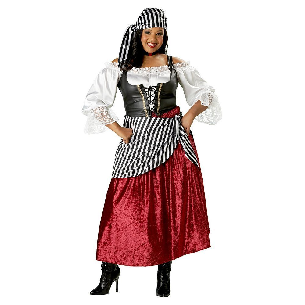 Plus Size Pirate Deluxe Costume - Adult Plus, Women\'s, Size: 2XL ...
