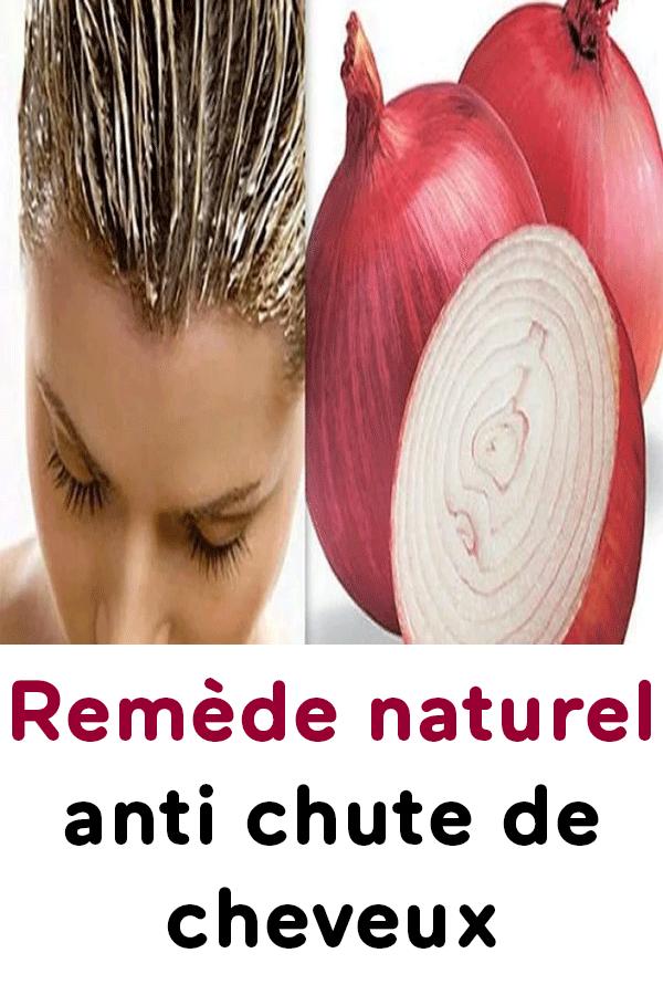 chute de cheveux traitement naturel femme
