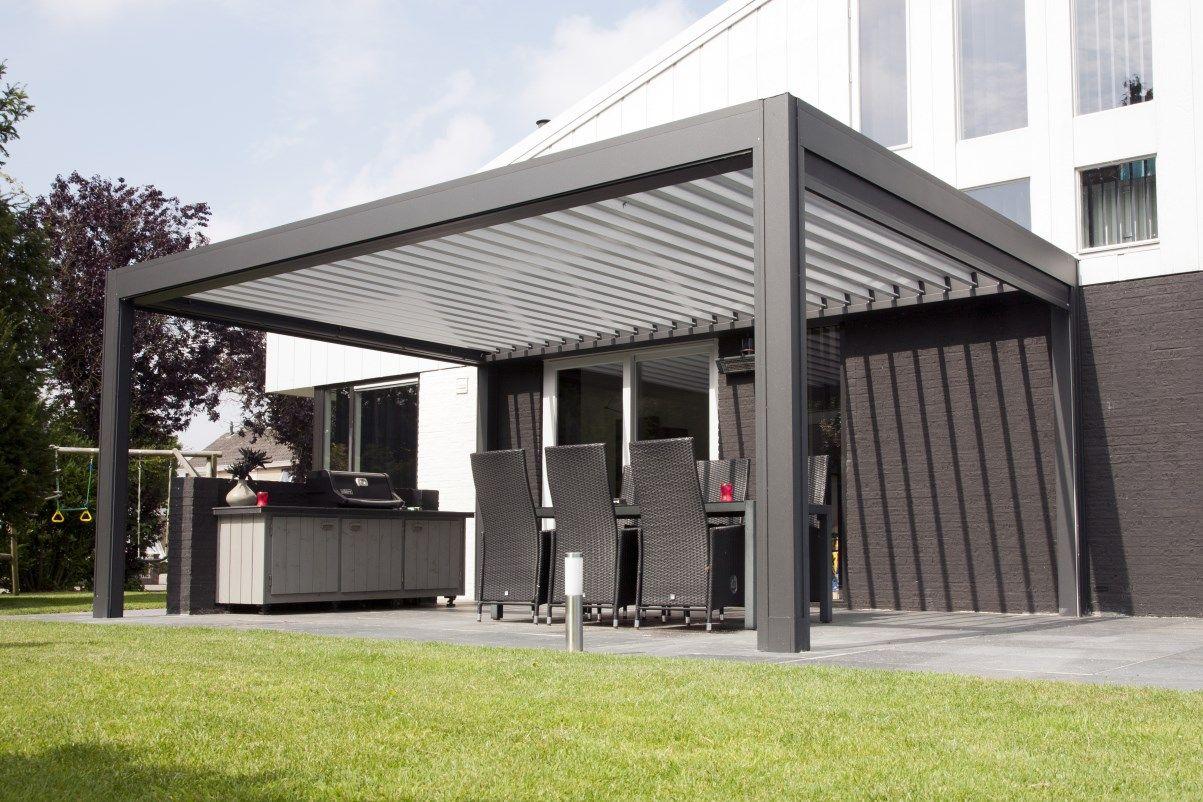 jumbo terrasoverkapping met lamellen overkapping tuin en terras pinterest. Black Bedroom Furniture Sets. Home Design Ideas