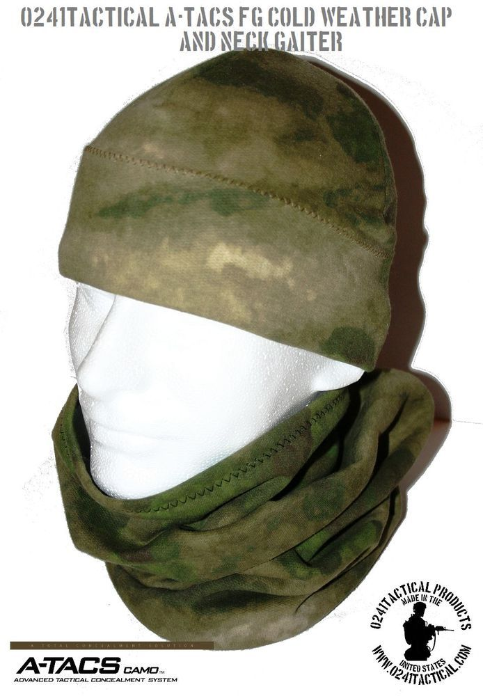 A-TACS FG COLD WEATHER NECK GAITER Tactical Clothing 362cf24a115c