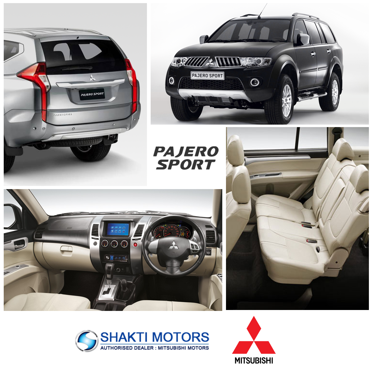 The new mitsubishi pajero sport shakti motors features and performance that you will love it check features infographics kingofallroads pinterest