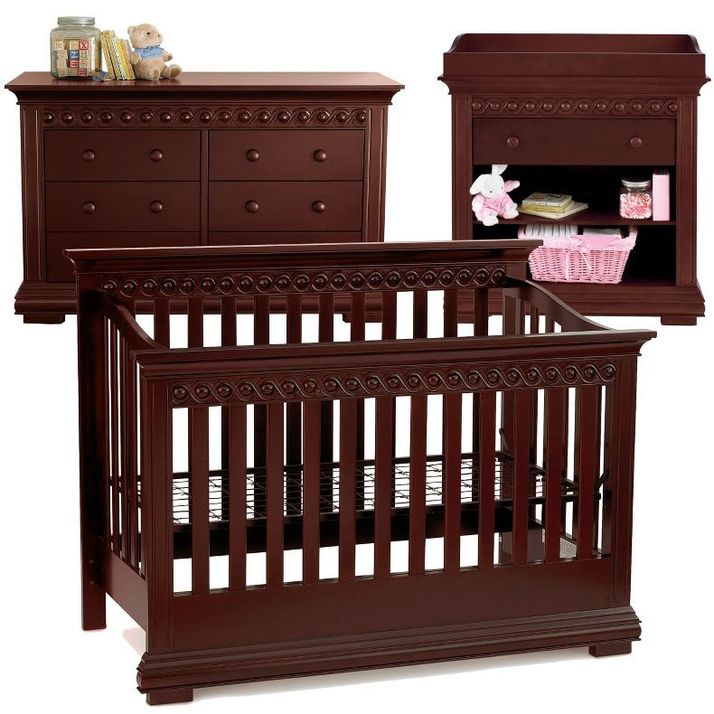 Jcpenney Savanna Morgan 3 Pc Baby Furniture Set Espresso Jcpenney Baby Furniture Sets Kids Furniture Sets Baby Furniture