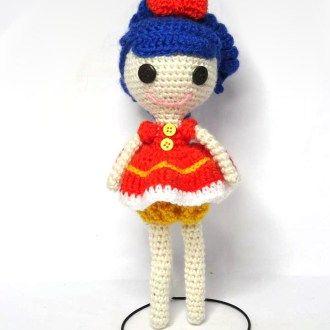 Lalaloopsy doll amigurumi pattern   Patrones amigurumi, Muñeca ...   330x330