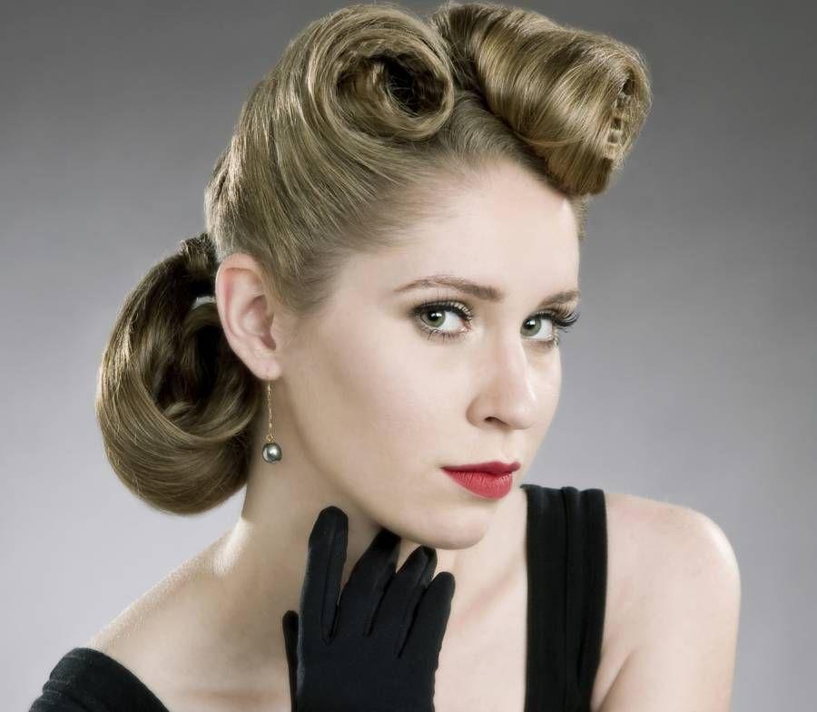 Fifties Hairstyles 900105625152Fiftieshairdo 900×785  ~50S~  Pinterest  1950S