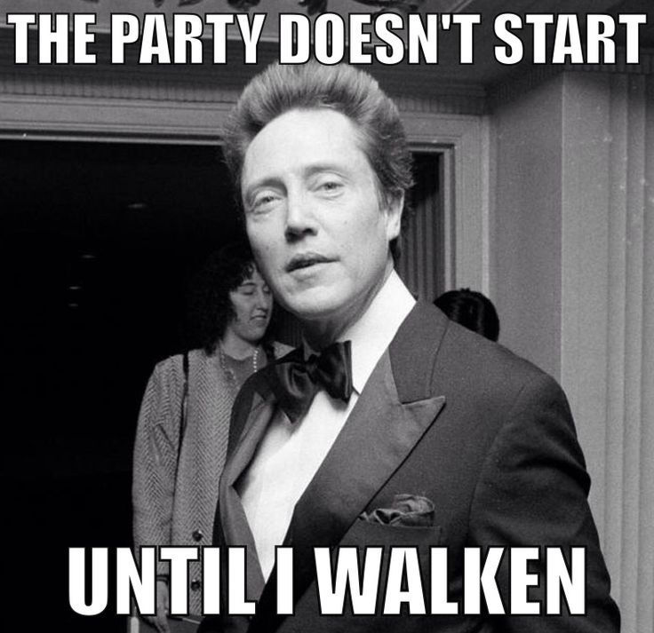 Then Oh Man Watch Out Funny Happy Birthday Meme Birthday Greetings Funny Christopher Walken Funny