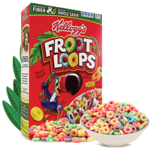 Froot Loops Printable Coupon For 75 Off Any One Box We Have A Great New Froot Loops Coupon For You To Print Today S Halloween Chocolate Fruit Loops Kelloggs