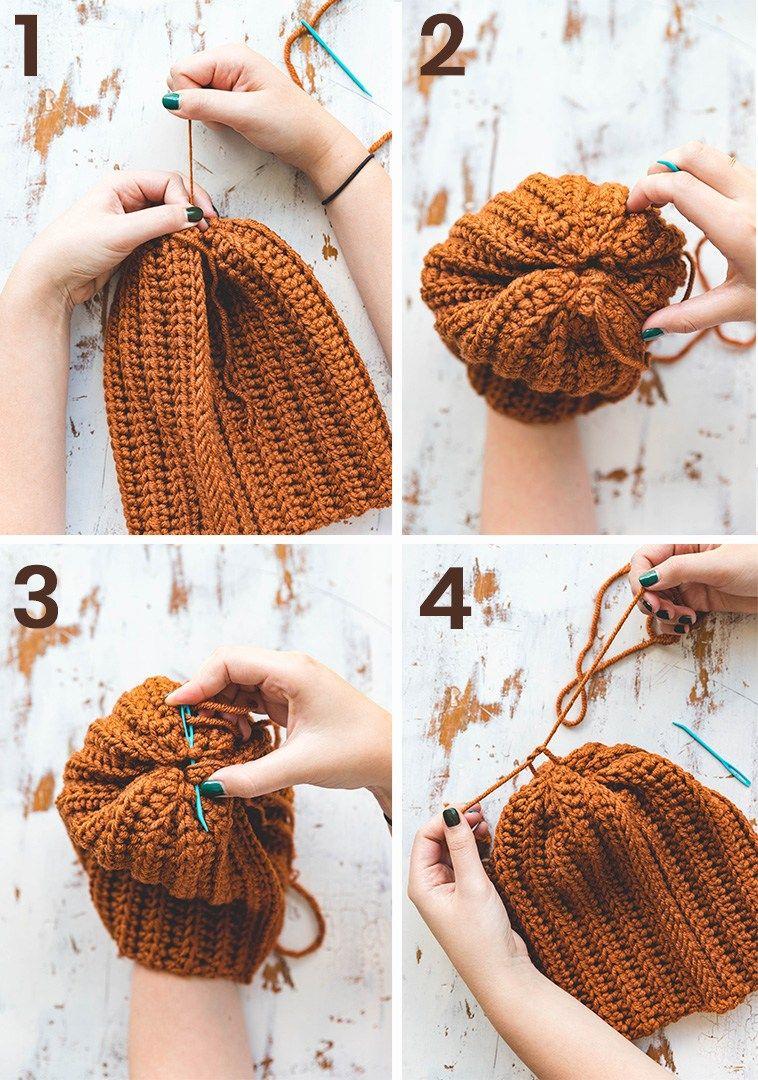 Crochet Brooklyn Ridge Hat • Sewrella #crochethatpatterns