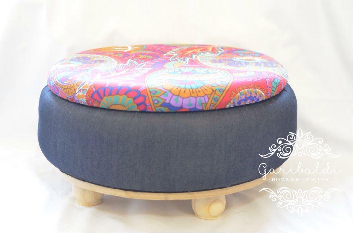 Banqueta Con Neum Ticos Decoraci N Reciclable Pinterest  # Muebles Con Neum?ticos
