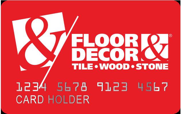 Credit Card Floor Decor Flooring Credit Card