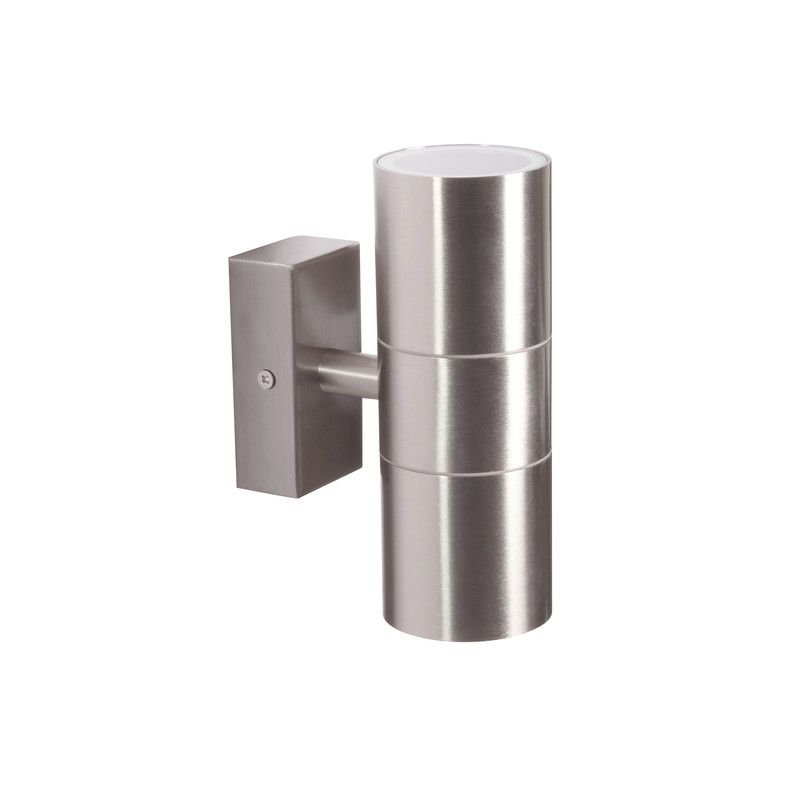 online retailer 4bfa0 1fdc4 Wall Up & Down Light Stainless Steel, £14.98, ToolStation ...