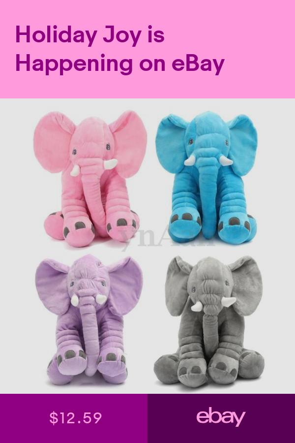 Pillows Home & Garden ebay Elephant stuffed animal