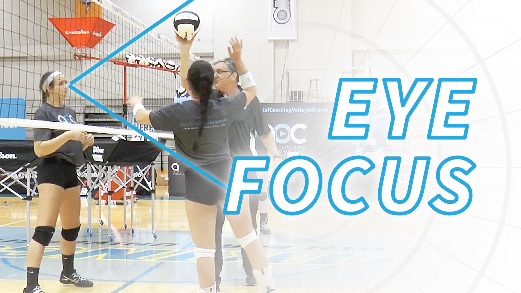 Blocking Fundamentals Eye Focus Coaching Volleyball Volleyball Coaching