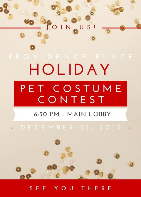 Apartment Marketing Pet Costume Contest Flyer Resident Events