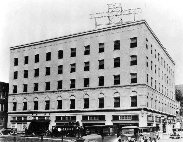 Mountaineer Hotel Williamson Wv Early 1900 S