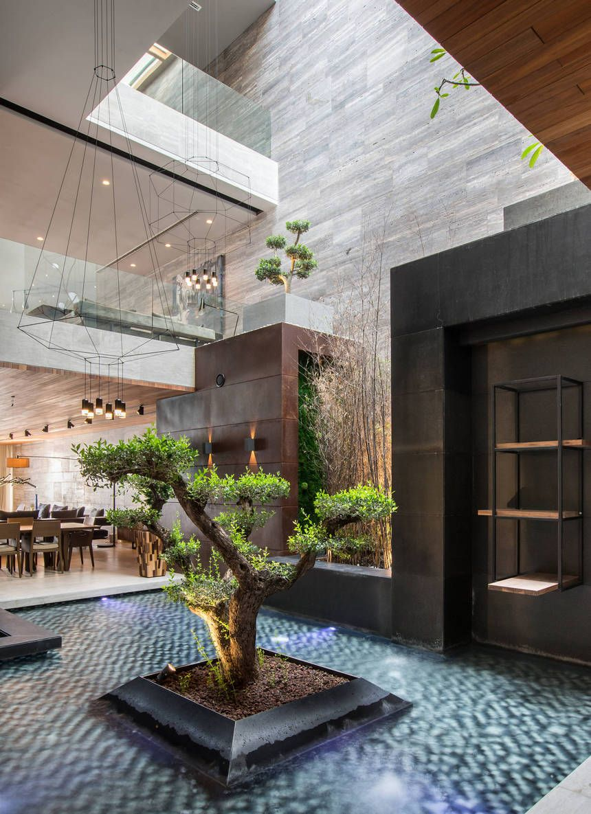 This Fabulous Landscape Design Is Smartly Added To These Contemporary Ideas By Keeping The Demands Of The Architecture Design Best Interior Design House Design