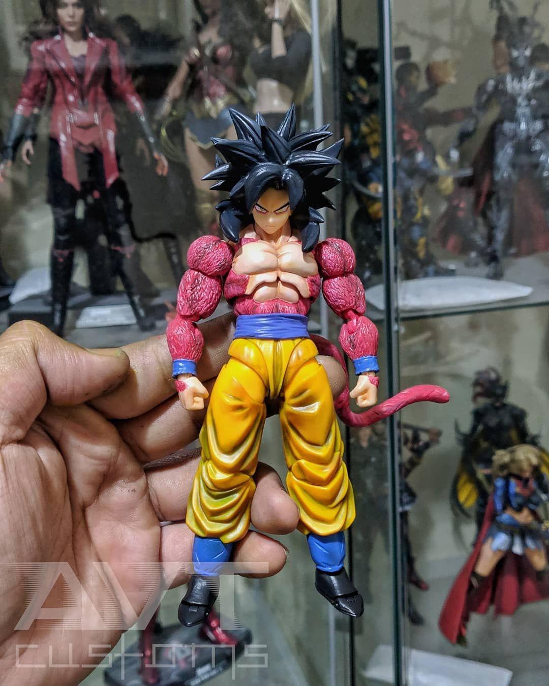 Custom Super Saiyan 4 Goku Gt Version Super Saiyan 4 Goku Super Saiyan Blue Super Saiyan Bardock